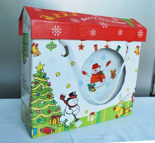 Conjunto de pratos e caneca de Natal para criança