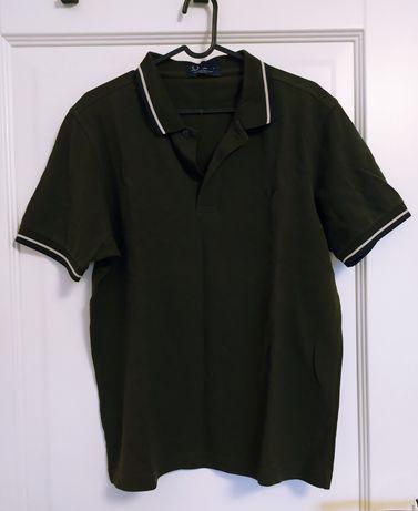 Zielona koszulka polo Fred Perry M/L