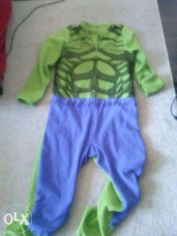 przebranie strój śpiochy Hulk