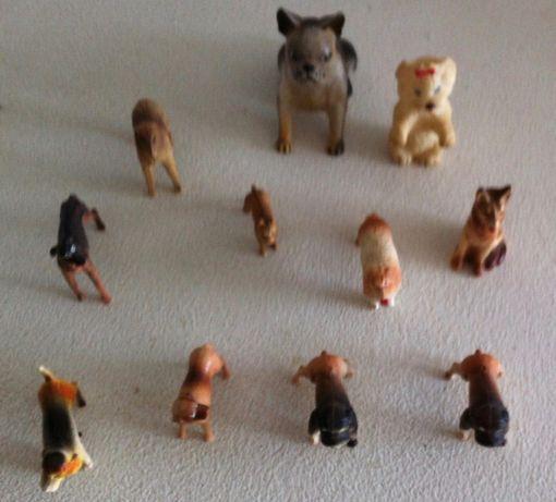 colecçao miniaturas de caes