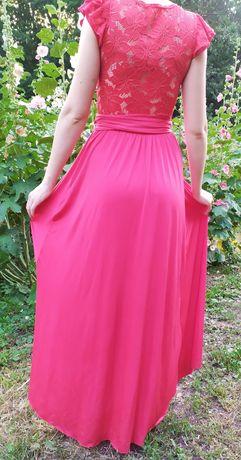 Вечернее платье, красное