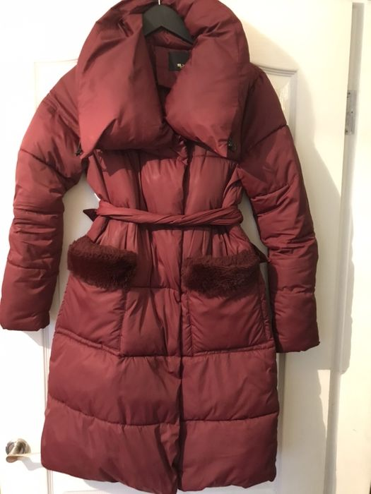 Зимнее пальто марсала Киев - изображение 1