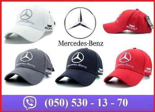 Автомобильная кепка (бейсболка) Mercedes-Benz