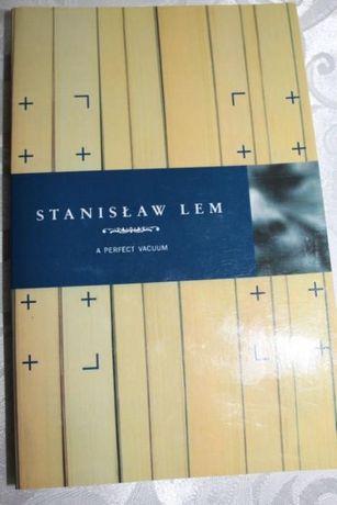 "Stanisław Lem ""A perfect vacuum"" Próżnia doskonała j. ang."