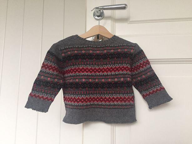 Sweter 12M, 74 cm
