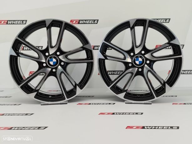 Jantes FOX MBZ look BMW em 17 5x120 e 5x112