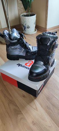 Зимние ботинки для девочки apawwa