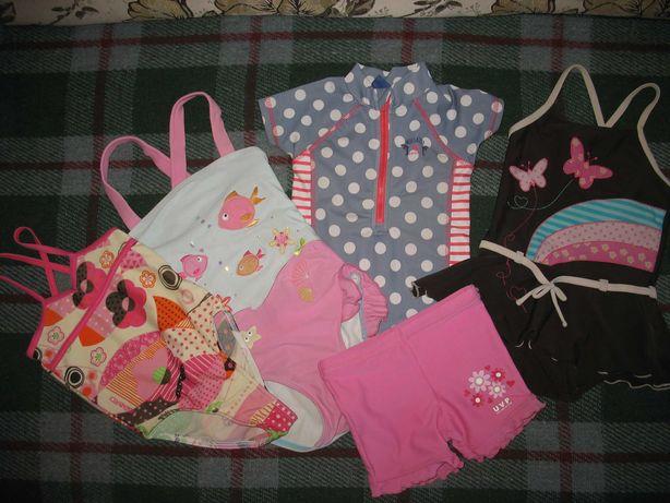 Купальные костюмы для девочки (60-100 грн), шортики - 50 грн