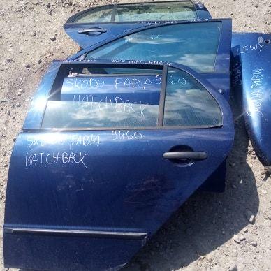 drzwi przednie; tylne, prawe, lewe skoda fabia kombi, hatchback sedan