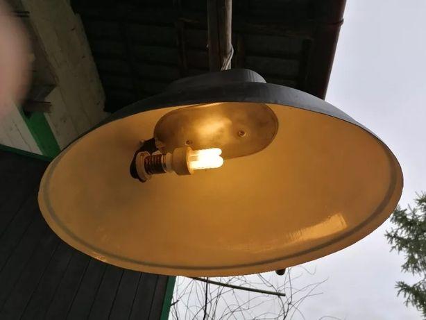 Lampa Przemysłowa Industrial Loft Predom PRL Vintage