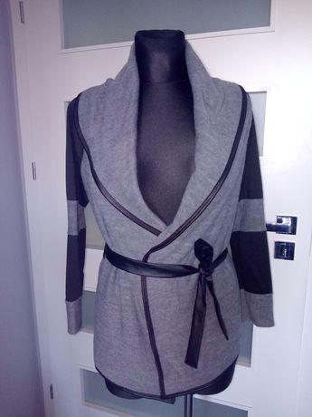 Sweter wiązany w pasie rozm L /XL