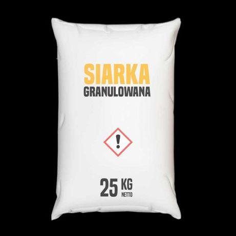 Siarka granulowana – 25 – 1000 kg – Wysyłka kurierem