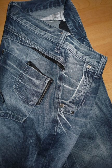 Spodnie jeans damskie roz. S, M * DESQUARE2