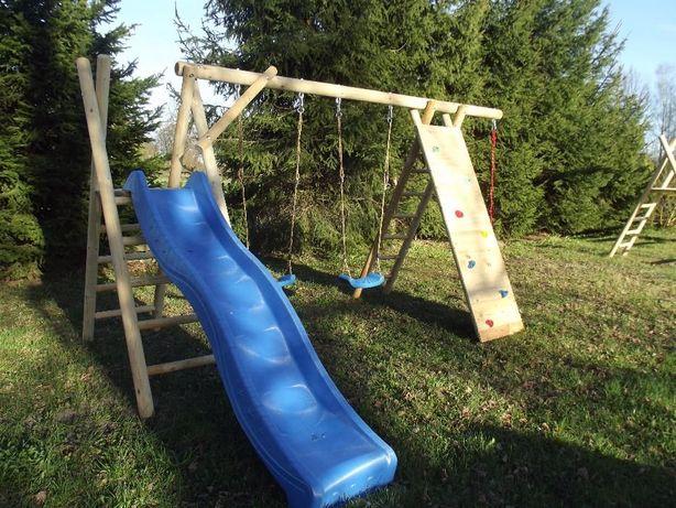 Huśtawka H2 gniazdo zjeżdżalnia plac zabaw dla dzieci ślizg