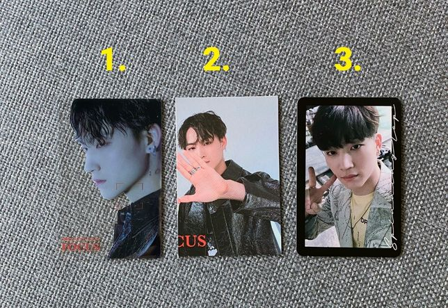 Oficjalne karty JB Jaebum Got7 Jus2 - KPOP