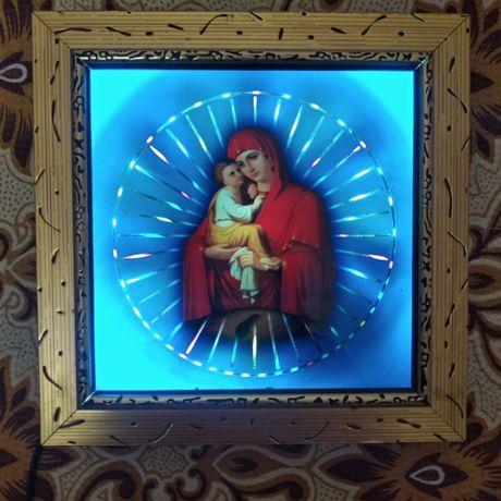 Светильник ночник икона