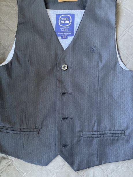 Garnitur (kamizelka i spodnie) 140