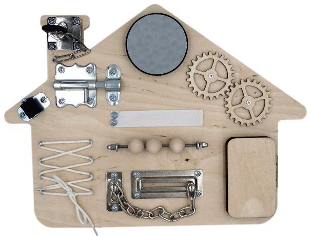 Tablica manipulacyjna Domek Montessori * Na prezent * Gratis wysyłka!