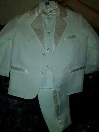 Костюм тройка+бабочка+рубашка белая (для крестин) (для выпускных)