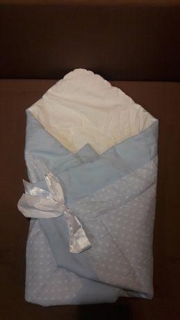 Конверт одеяло на выписку из роддома для прогулок
