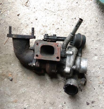 Турбина отвод 90' ФАВ FAW 1031 б/у