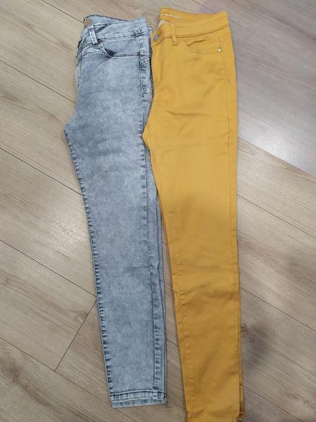 Dwie pary jeansów
