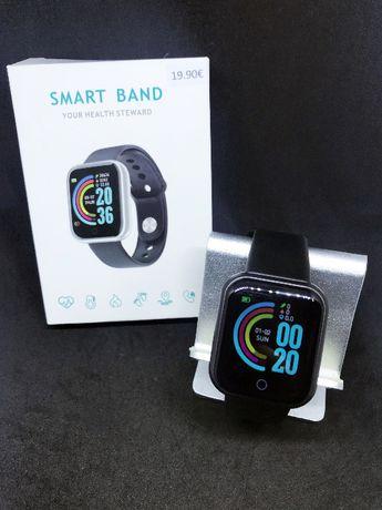 SmartWatch / Smartbracelet / Smartband Fitness, Saúde e desporto -Nova