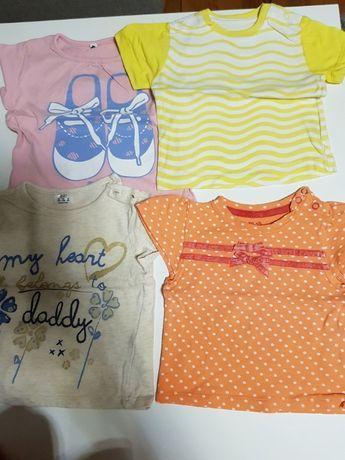 Koszulki dziewczęce