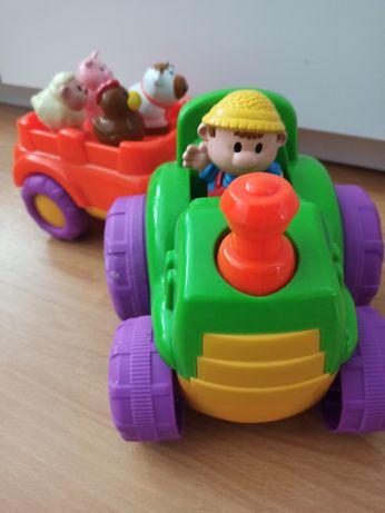 Traktor zabawka z dźwiękami