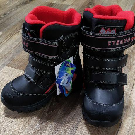 Зимние термоботинки сапоги ботинки термообувь B&G Termo
