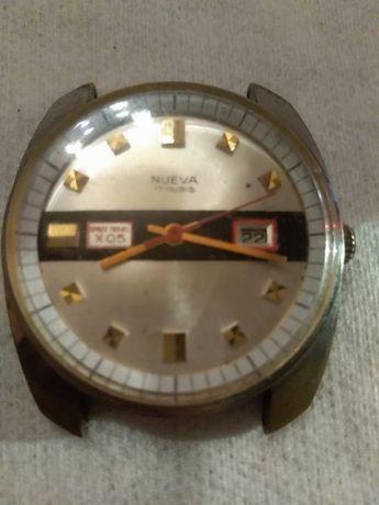 NUEVA Space Travel X05 Cal. CRC 860 Swiss Men's Watch 1970's