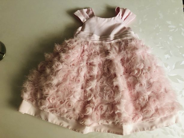 Платье на годик новогодние красивое новогодние 12-18 chloe hm zara