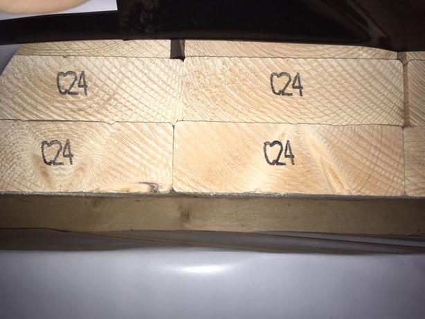 Kantówka Legar Drewno konstrukcyjne C24 45x145 BELKA STRUGANA C24