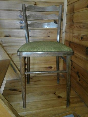 Krzesła bukowe tapicerowane 4 szt