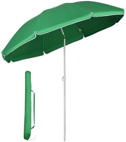 OUTLET parasol przeciwsłoneczny Ø 160 cm ogrodowy turystyczny łamany