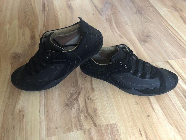 Meskie buty skorzane CLARKS. R.44. Stan bdb