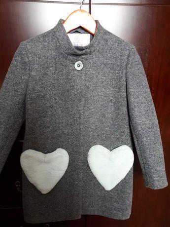 Пальто кашемірове дитяче