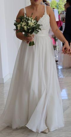 Suknia ślubna bieliźniana