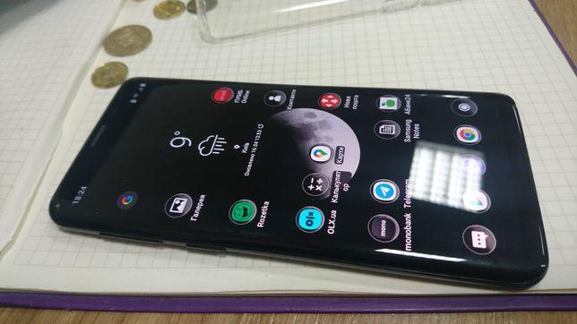 Samsung galaxy s9 4 64 повністю працюючий не битий незначна уцінка.