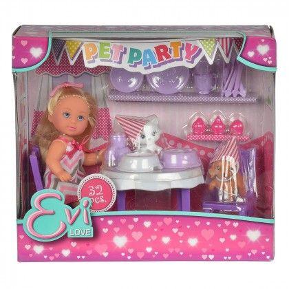 Кукла Эви Вечеринка для домашних любимцев 5732831