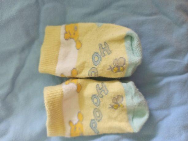 Skarpetki niemowlęce 0-6m 6 SZTUK!
