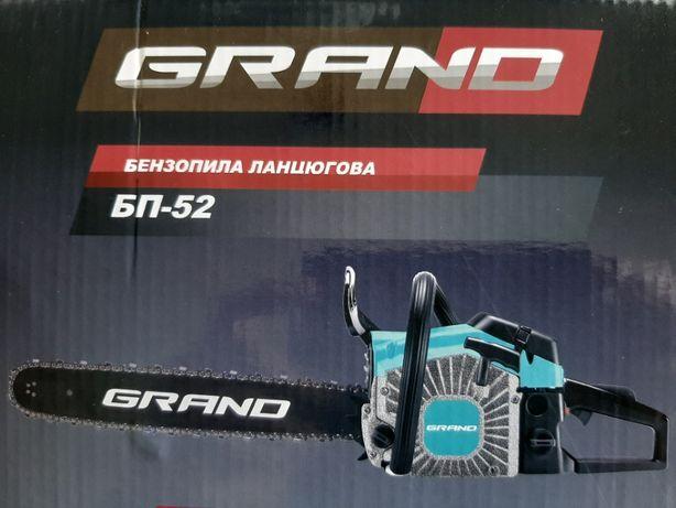 Бензопила GRAND БП-52. Чехия.