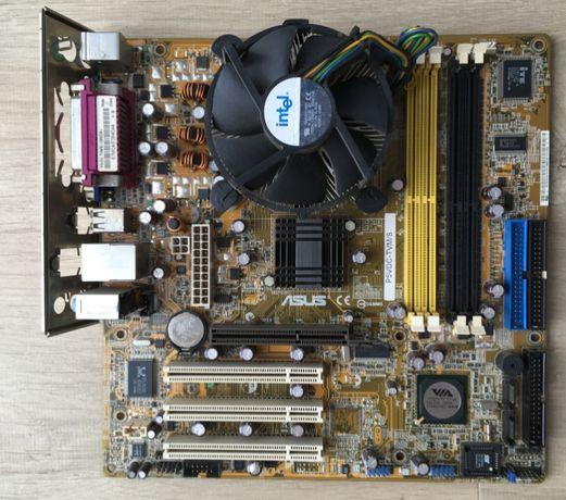Płyta ASUS P5VDC-TVM/S + procesor Intel® Celeron® D 351