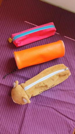 Conjunto bolsas estojos escolar
