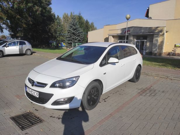 Opel Astra J 1,6, 2015 r.