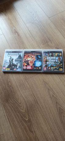 Gry PS3 mortal kombat assassin's Creed 3 GTA5