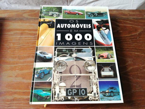 """Livro """"Os automóveis em 1000 imagens"""""""