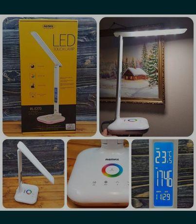 Настольная лампа led remax RL-E270 с термометром оригинал