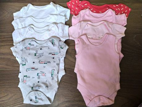Пакет вещей 0-2 месяца, одежда для новорожденных, боди