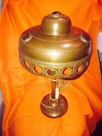 Лампа,светильник,настольная лампа 19век